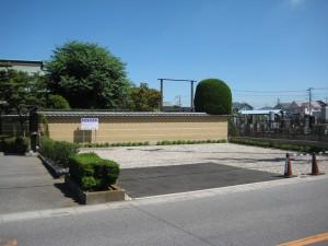 成就院参拝者専用駐車場 山門前